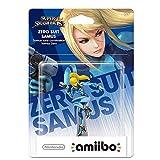 CQ Super Smash Bros. Amiibo: Zero Suit Samus Figurita!Figura de accin de la Serie Super Smash Bros. Juego Obra Maestra Figura Coleccionable de importacin de Japn (Wii U / 3DS / Switch) Toys