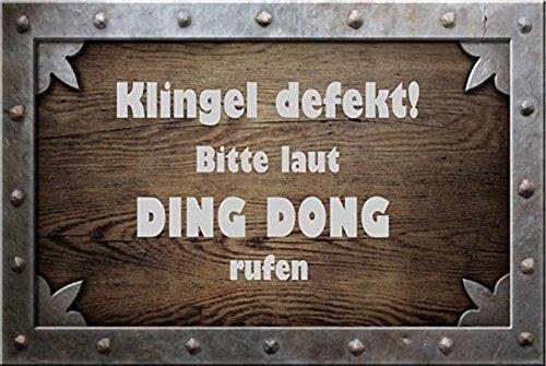 Klingel defekt Bitte laut Ding Dong rufen
