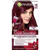 Garnier Hair Color Sensation Rich Long-Lasting Color Cream, 4.60 Dark Intense Auburn