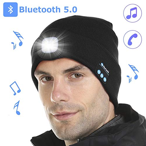 Our #5 Pick is the Tutuko LED Bluetooth Beanie