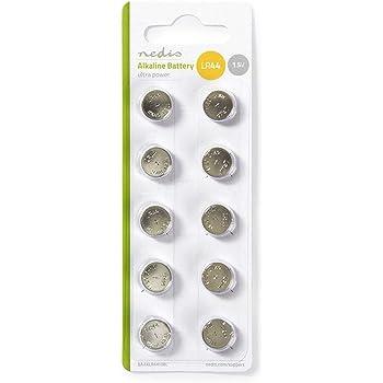 Batterie a Bottone Lr44 Alcalina (10 Pz)