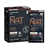 Keto//OS NAT® Swiss Cacao Keto Supplements – Charged - Exogenous Ketones - BHB Salts Ketogenic Supplement for Workout Energy Boost for Men and Women (20 Count)
