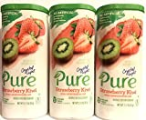 Crystal Light Pure Strawberry Kiwi Drink Mix, 10-Quart Canister (3 Canister Pack)