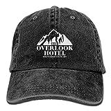 Rundafuwu Gorras de béisbol/Hat Trucker Cap Baseball Caps Hats Overlook Hotel Shirt Washed Retro Cowboy Cap Trucker Hats for Woman and Man Adjustable Unique Personality Cap