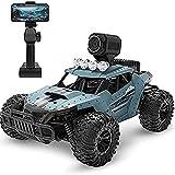 Moerc 2.4G Control Remoto Racing de Alta Velocidad Coche RC con cámara de 720p HD WiFi FPV 1:16 Radio Control Remoto Climb Off Road Buggy Trucks Niños Regalos Niños Juguete