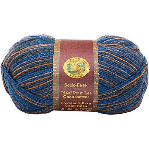 Lion Brand Yarn 240-202R Sock-Ease Yarn, Taffy