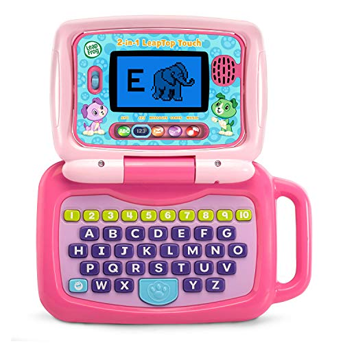 LeapFrog 2-in-1 Leaptop Touch (Frustration Free Packaging), Pink