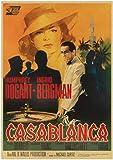 HGVFR Hollywood-Film Casablanca Retro-Poster Und