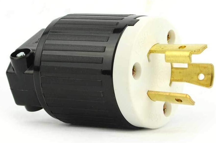 Superior Electric YGA018 Twist Lock Electrical OFFer 3 Wire Very popular! 20 Plug A