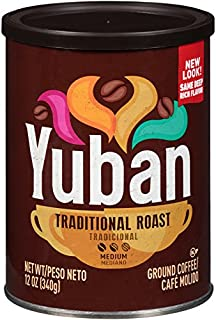 Yuban Traditional Ground Coffee (12 oz Bags, Pack of 6)