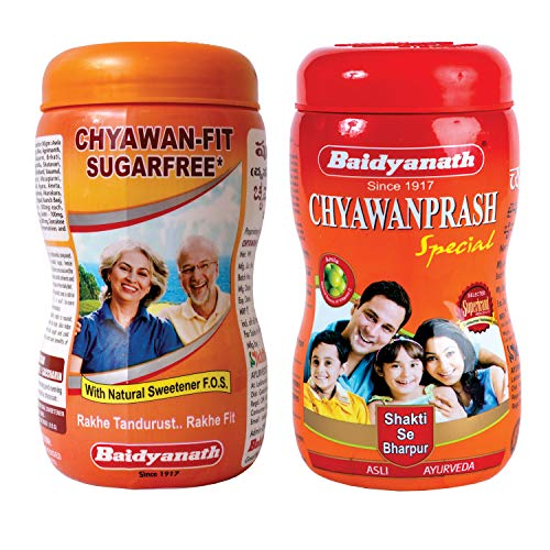Baidyanath Chyawanprash Special 1kg & Chyawan-Fit Sugarfree...