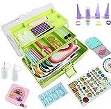 Quilling-Set, Quilling-Werkzeuge, Papier-Quilling-Set mit Aufbewahrungsbox