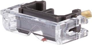 日本精機宝石工業株式会社 JICO レコード針 SHURE N-44G/DJ用交換針 丸針 針カバー付 192-44G/DJ IMP グレー