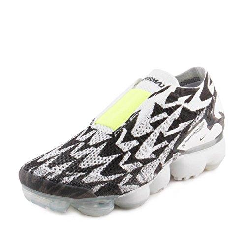 Nike Mens AIR Vapormax FK MOC 2 / Acronym Light Bone/Volt-Light Bone Woven Size 12