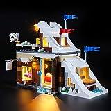 BRIKSMAX Kit de Iluminación Led para Lego Creator Refugio de Invierno,Compatible con Ladrillos de Construcción Lego Modelo 31080, Juego de Legos no Incluido
