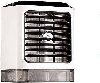 Qiutianchen Aire Acondicionado Humidificador purificador de Aire Refrigeración Escritorio Escritorio Humectante Spray pequeño Ventilador