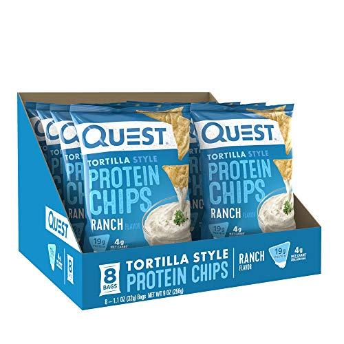 Quest Tortilla Chips Ranch 8/box, 256 g