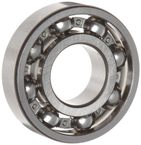 WJB 6308 Deep Groove Ball Bearing, Open, Metric, 40mm ID, 90mm OD, 23mm Width, 9150lbf Dynamic Load Capacity, 5400lbf Static Load Capacity