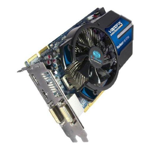 Sapphire Ati Radeon HD 5750 Vapor-X Grafikkarte (PCI-e, 1GB GDDR5 Speicher, DVI-I, HDMI, 1 GPU) Lite Retail