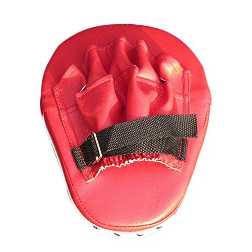 OuYou Manoplas de Boxeo Paos de Boxeo Almohadilla de Entrenamiento de Boxeo de Objetivo de Puño de Mano Flexible Sanda Taekwondo