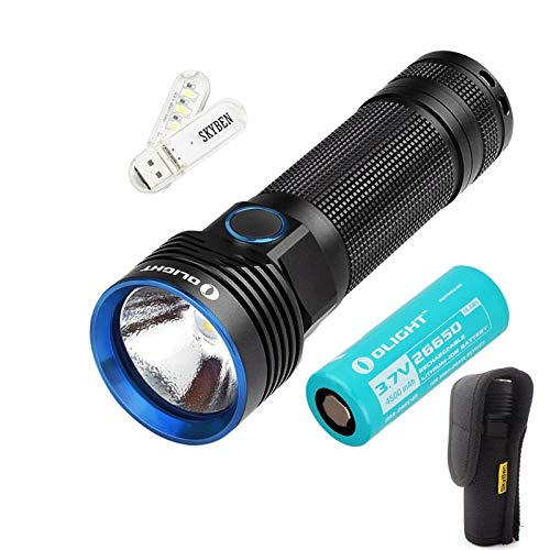 Best Rechargeable Flashlight: Olight R50 Seeker