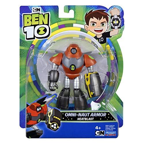 Ben 10 BEN47I10 Action Figure - Space Armor Heatblast
