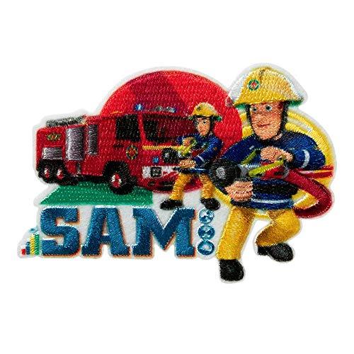 Mono Quick Feuerwehrmann Sam Applikationen, Bügelbild, Patch, Aufnäher, Penny Jupiter Venus (18043 - Sam & Jupiter)