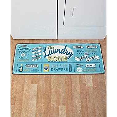 The Lakeside Collection 52  Laundry Room Rug -
