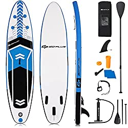10. Goplus 10.5' - best stand up paddleboard for rivers