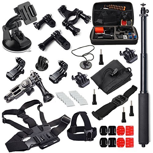 McStree 35-in-1 accesorios botiquín para GoPro HERO4 Session todas Gopro Hero4 Silver...
