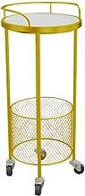 Foyer stojak dekoracyjne wózki, metalowy stojak do przechowywania z siatki do małego mieszkania salonu sypialni łazienki o...