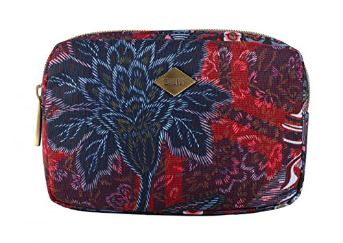 Oilily Paisley M Soft Pouch Dark Blue