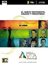 NVI Biblia Experiencia Viva, Nuevo Testamento con Salmos y Proverbios MP3 (Spanish Edition)
