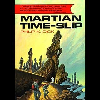 Martian Time-Slip audiobook cover art