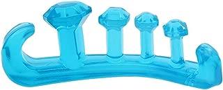 [Toe Glow] 足指 広げる 外反母趾 矯正 足 マッサージ 足指 パッド セパレーター 内反小趾 サポーター 5本指 Lサイズ (24.5-28cm) ブルー