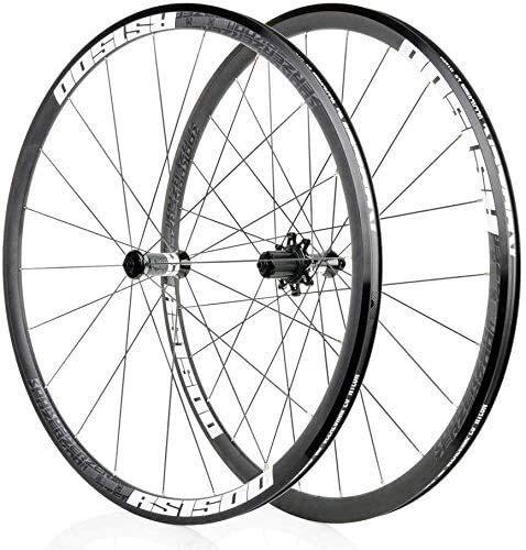 Ruedas para bicicleta Rueda de Bicicleta Bicicleta 700C de ruedas, aleación de aluminio 30MM llanta freno de disco de rueda de la rueda trasera frente Quick ruedas de ciclismo de liberación 32H cojine