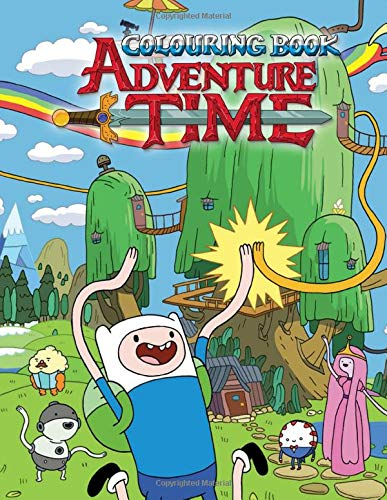 Adventure Time Colouring Book