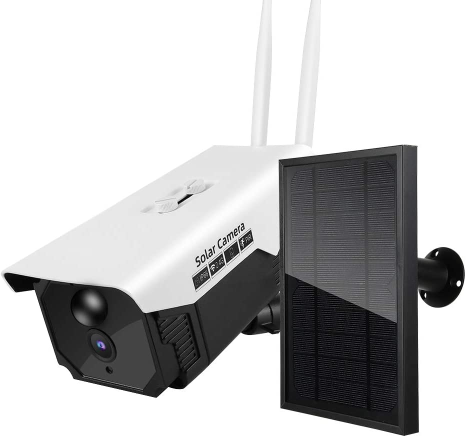 Security Regular discount Camera Outdoor Solar Al sold out. Wireless WiFi IP6