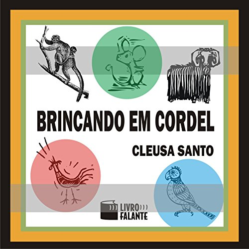 Brincando em cordel [Playing with String] audiobook cover art