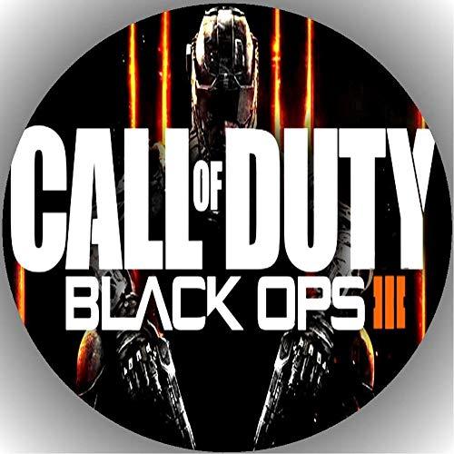 Fondant Tortenaufleger Tortenbild Geburtstag Call of Duty Black Ops T7