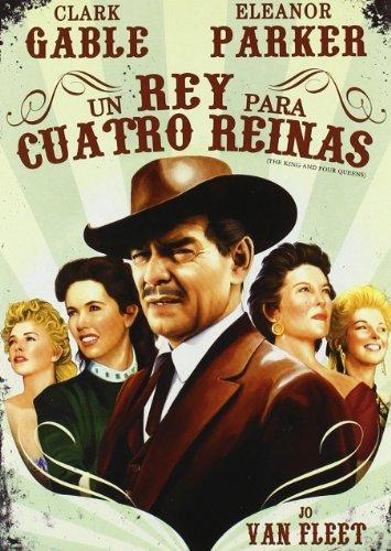 Un Rey Para Cuatro Reinas [2010] *** Region 2 *** Spanish Edition *** by Clark Gable