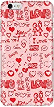 Stylizedd Apple iPhone 6 Plus Premium Slim Snap case cover Gloss Finish - Love Doodle I6P-S-184