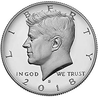 2018 S Clad Proof Kennedy Half Dollar Choice Uncirculated US Mint