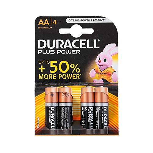 Blister 4 Pezzi Batterie Stilo Aa Duracell