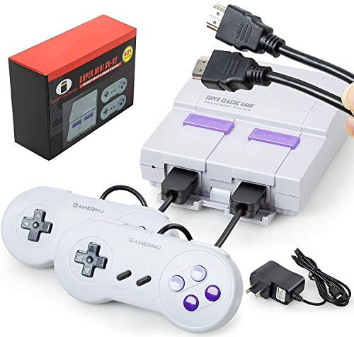 Maconhey Retro Game Console, Handheld Video Game Console with 2 NES Controllers,...