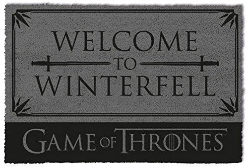 1art1 Juego De Tronos - Welcome To Winterfell Felpudo Alfombra (60 x 40cm)