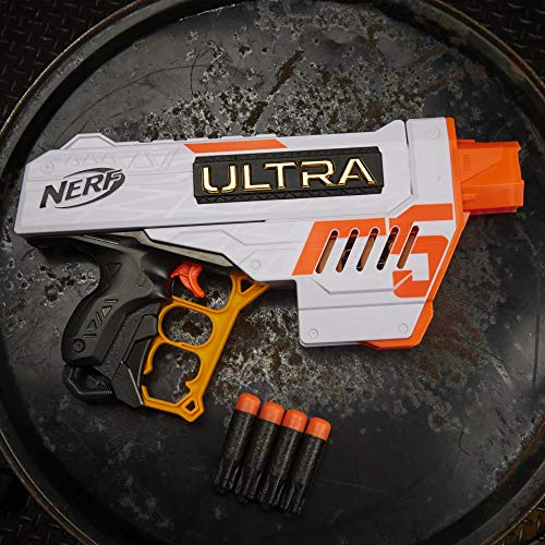 The Nerf Ultra Five has a great design