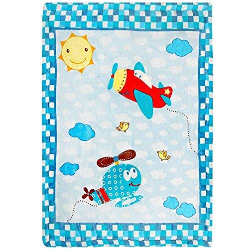 Imagen para delindo Lifestyle® Gateo luftikus/suave y mullido parte Manta/Baby 110x 140cm/para niñas y niños
