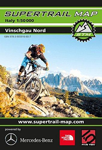 Supertrail Map Vinschgau Nord: Maßstab 1:50 000