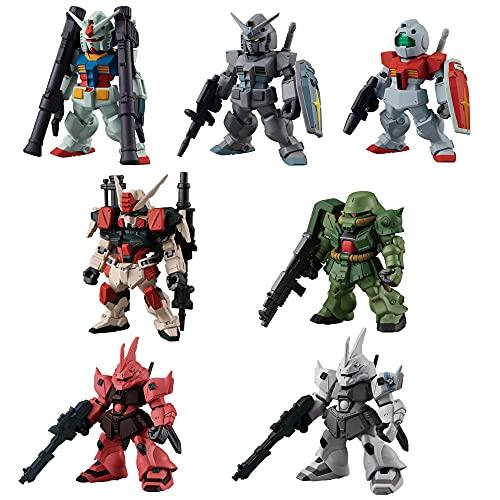 FW GUNDAM CONVERGE 22 (10 Pieces) Candy Toy, Chewing Gum 1 Piece (Mixed) Gundam Series)